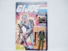 1983 GI Joe Short Fuze 100% Complete On Un-Punched Card