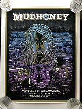 *Mudhoney Brooklyn Matt Keunig 5/11/13 AP Concert Poster*not S/N*