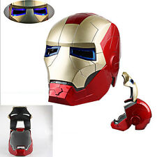 KENET Iron Man Helmet Mask Tony Stark Mark 7 Cosplay Mask with LED Light toys