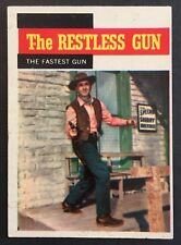Vintage 1958 Topps TV WESTERNS card #55 THE FASTEST GUN combined ship