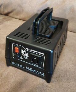 MW MW2P300 Step Down AC-AC Voltage Converter UK 230V to USA 110V 300VA 300W