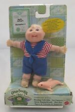 Mattel Cabbage Patch Kids 12cm Beanbag Baby on Card with Dolphin Friend