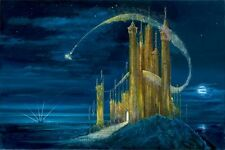The Gold Castle- Peter & Harrison Ellenshaw - Limited Edition Giclee On Canvas