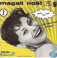 MAGALI NOEL FAIS MO MAL JOHNNY CD SINGLE EP 4T no vinyl