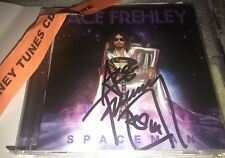ACE FREHLEY SPACEMAN SIGNED CD WITH PROOF SAM ASH NYC EVENT 10/19 KISS SPACE MAN