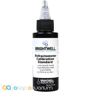 Brightwell Refractometer Calibration Solution 60mL Fast Free USA Shipping