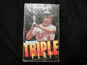 1992 Donruss Triple Play Baseball Premier Edition 36 Pack Factory Sealed Wax Box