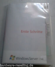 Windows Server 2008 Standard mit Hyper-V, 32/64 Bit DVD, inkl. 5 CAL, SB/OEM, DE