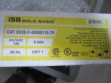 Sola E620-F-45650110-TP Sign Ballast 12' to 24' 1-6 Lamps NEW!!! Free Shipping