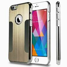 Aluminum Thin Metal Brushed Chrome  Case Cover  for iPhone6 /s /6plus