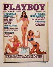 Playboy Magazine March 1983 Issue (Sam Donaldson Interview)