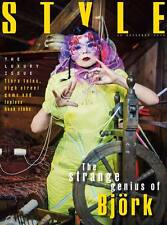 BJORK PHOTO UK COVER INTERVIEW STYLE MAGAZINE NOVEMBER 29 2015 NEW
