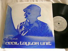 CECIL TAYLOR UNIT Spring Of Two Blue-J's Jimmy Lyons Andrew Cyrille Sirone LP