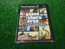 Brand New sealed Playstation PS2 2 GTA Grand theft Auto San Andreas Video Game