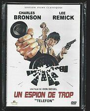 DVD - TELEFON / UN ESPION DE TROP (CHARLES BRONSON / LEE REMICK) INTROUVABLE !!!