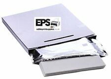 EPS Easy Peel Edible Decor Paper Icing Sheets Pack for Printing Cake Toppers 25