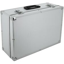 Aluminium-koffer Silber Werkzeugkiste Transportkoffer Alukoffer Abschließbar Alu