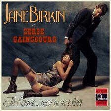 "7"" JANE BIRKIN Je t'aime moi non plus FONTANA Germany NUR COVER! (Only Sleeve)"