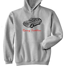 POLISH POLONEZ CARO PLUS FSO RACING P - GREY HOODIE - ALL SIZES IN STOCK