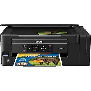 EPSON Ecotank ET-2650 All-in-One Wireless Inkjet Printer+INKS