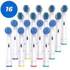 16 Mix Aufsteckbürsten kompatibel für Oral-B, Aufsätze Ersatzbürsten sensitive