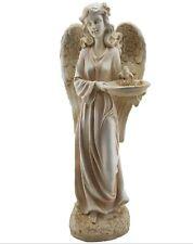 Garden Angel Fairy Bird Feeder Statue Ornament Figurine Sculpture BIG *57 cm*