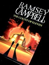 RAMSEY CAMPBELL The Count of Eleven 1991 1st/First hb dw king herbert koontz
