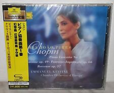 SHM-CD CHOPIN - PIANO CONCERTO NO. 1 - KRIVINE - JAPAN UCCG 2079
