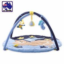 Baby Play Mat Baby Playmat Gym Activity Blue Bear Musical Toy 85cm BCUSH6915