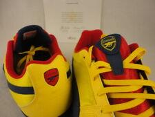 Puma Paulista Novo, Arsenal FC Gunners, Yellow / Blue / Red, Sz 11.5