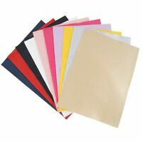10pcs/lot Solid Leather For Xmas DIY Bow Shoes Handbag Sewing Fabric Material