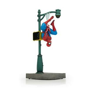 "Marvel Spider-Man Collector Statue | Interactive Spider-Man Figure | 14"" Tall"