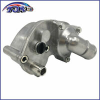 New Thermostat Aluminum Housing Kit, Plug, Gasket Seal For 02-11 Ford 4.0L SOHC