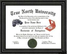 Navigation Expert's Doctorate Diploma / Degree Custom made & Designed for you