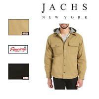 SALE! Jachs Men's Sherpa Lined Canvas Shirt Jacket VARIETY SZ/CLR - E21