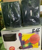 NEON POWER 6 1/2 INCH PRO SERIES Main Stereo Speaker - Black Pack of 2