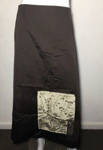 NWT ~ TAKING SHAPE chocolate Cup Day Patch Occasion skirt ~ Size 20  rrp $130