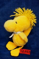 Peluche n°Q153: WOODSTOCK  (copain de Snoopy) 18cm env. PEANUTS