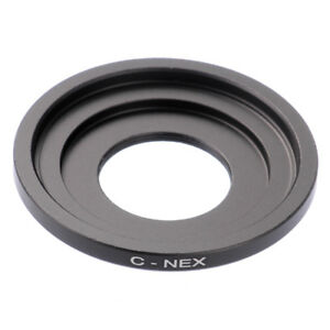 C-NEX Adapter Ring For C Mount Movie Lens to SONY NEX E Mount A6000 A5000 Camera