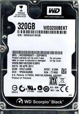 WD3200BEKT-22PVMT0 Western Digital DCM: HHCTJABB 320GB