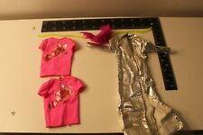 Barbie and the Rockers Clothing Lot Jumpsuit Rockers Shirts Hair Band