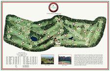 Lookout Mountain Golf Club-1925 - Seth Raynor - VintageGolfCourseMaps print