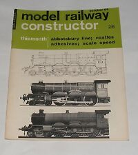 MODEL RAILWAY CONSTRUCTOR OCTOBER 1964 - ABBOTSBURY LINE/CASTLE CLASS/ADHESIVES
