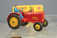 DINKY TOYS MODEL No.300 MASSEY FERGUSON  TRACTOR  (RUBBER TYRES )