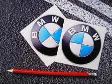 2 X 85mm BMW STICKERS   M3 M5 M6 X5 X3 X1 3 SERIES 5 SERIES 1 SERIES F1 DTM