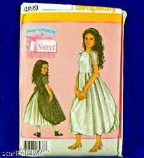 Simplicity 4899 Daisy Kingdom Formal Dress Pattern 3-6
