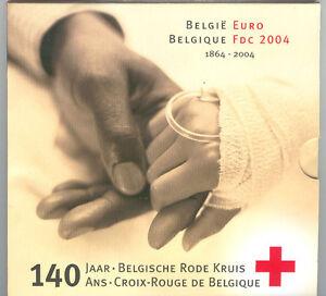 Belgium 2004 - Official (BU) Euro Coin Set