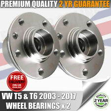 2 X VW VOLKSWAGEN T5 REAR WHEEL BEARINGS HUB TDI ALL MODELS NEW QUALITY PART