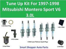 Tune Up for 1997 1998 Mitsubishi Montero Sport V6 3.0L Spark Plug, Fuel Filter