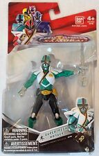Power Rangers Super Samurai Super Mega Ranger 4in Action Figure Green Forest NEW